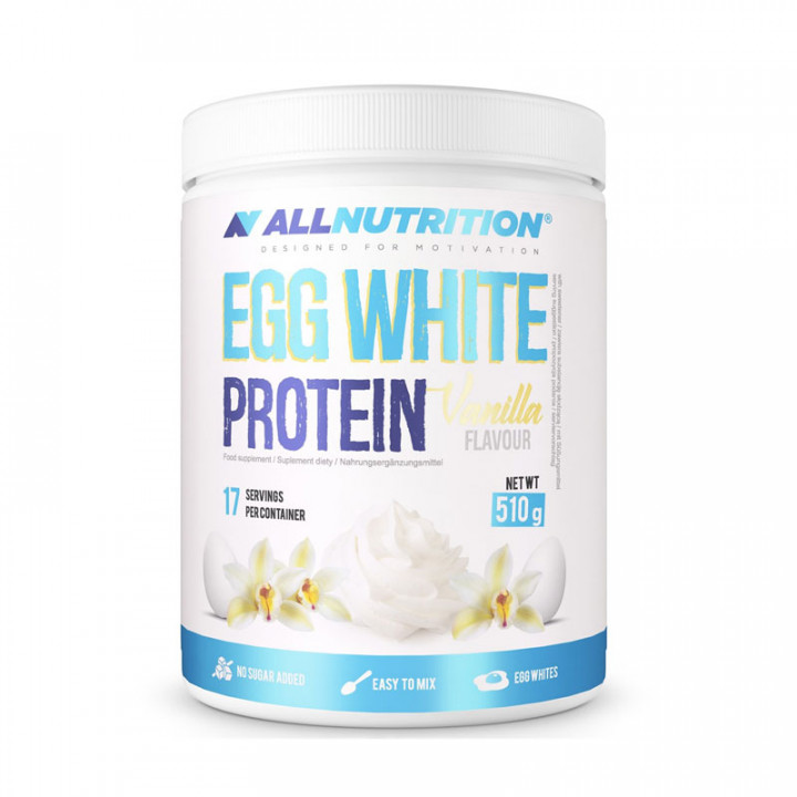 ALL NUTRITION EGG WHITE PROTEIN - VANILLA 510G