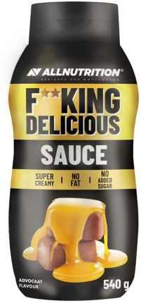ALL NUTRITION F**CKING DELICIOUS SAUCE - ADVOCAAT 540G