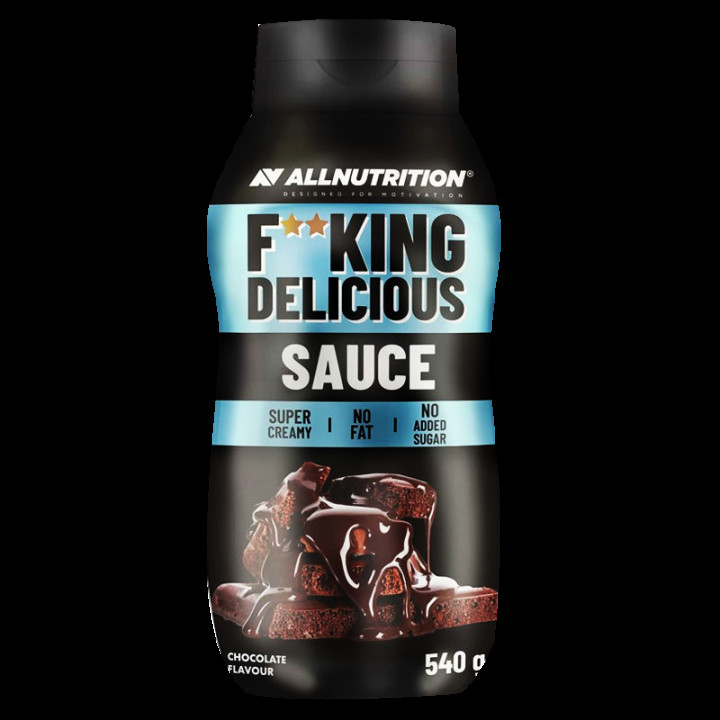ALL NUTRITION F**CKING DELICIOUS SAUCE - CHOCOLATE 540G