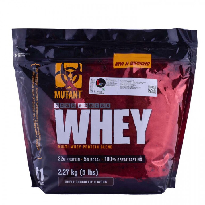 MUTANT CORE SERIES WHEY - Triple Chocolate 2.27 kg