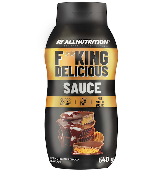 ALL NUTRITION F**CKING DELICIOUS SAUCE - PEANUT BUTTER CHOCOLATE 540G