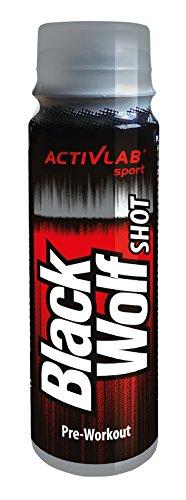 ACTIVE LAB BLACK WOLF SHOT PREWORKOUT 80ML x12