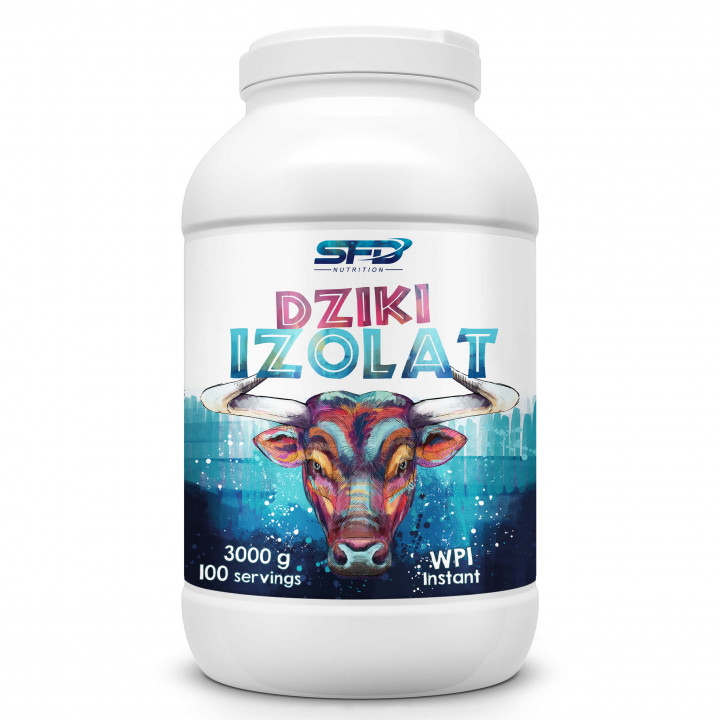 SFD NUTRITION DZIKI ISOLAK - STRAWBERRY 3000G