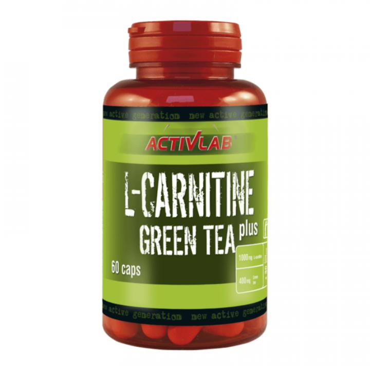 ACTILAB L-CARNITINE + GREEN TEA - 60 CAPSULES 52,8G