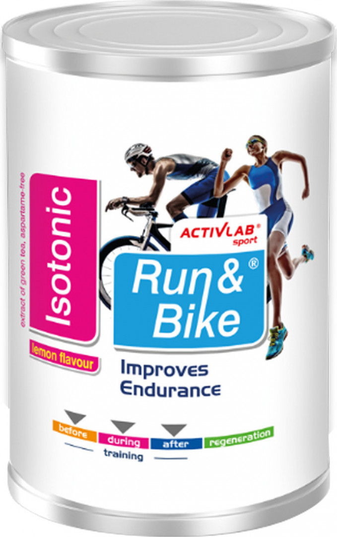 ACTIVE LAB ISOTONIC RUN & BIKE - LEMON 475G