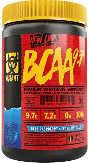 MUTANT BCAA 9.7 - BLUE RASPBERRY 348G