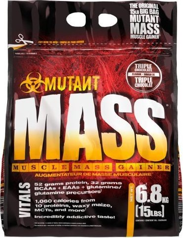MUTANT MASS GAINER - TRIPLE CHOCOLATE 6.800 KG