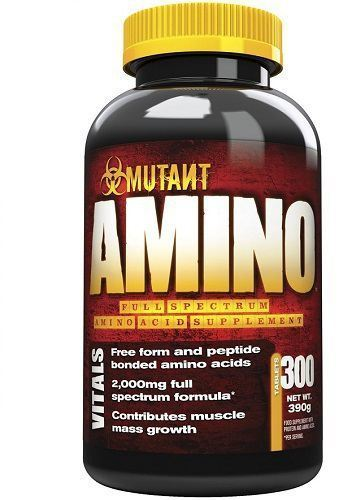 MUTANT AMINO - 300 TABLETS 2000MG