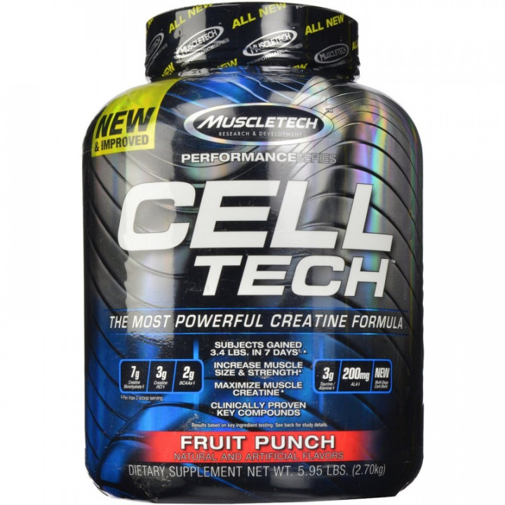 MUSCLETECH CELL TECH - FRUIT PUNCH 2700G