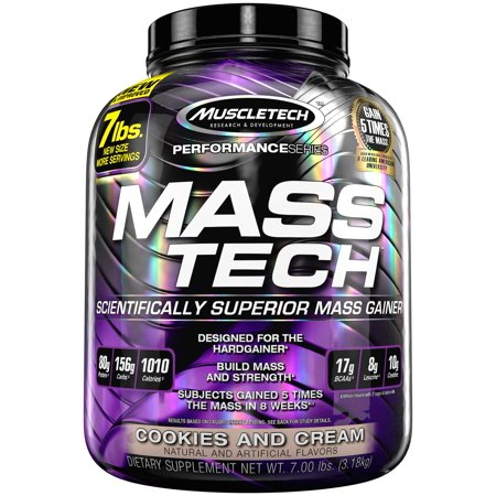 MUSCLE TECH MASS TECH - COOKIES AND CREAM 3.18KG
