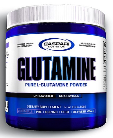 GAASPARI NUTRITION GLUTAMINE POWDER 300G