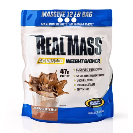 REAL MASS ADVANCED WEIGHT GAINER - CHOCOLATE ICE CREAM 5.900G