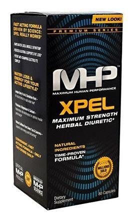 MHP MAXIMUM HUMAN PERFORMANCE - XPEL DURETIC - 80 CAPSULES
