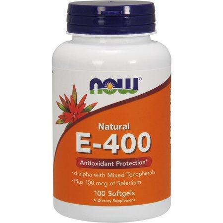 NOW E-400 - 100 CAPSULES