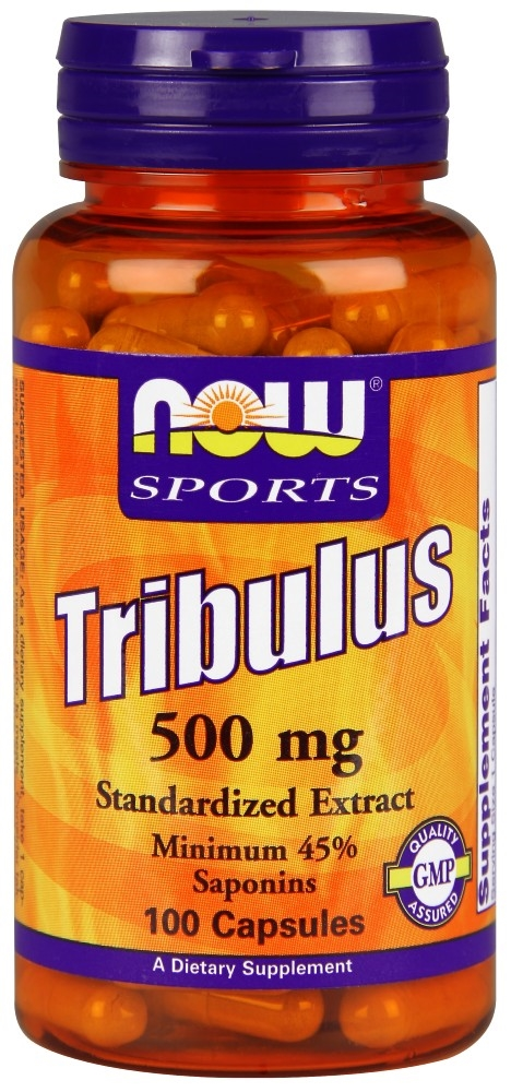 NOW SPORTS TRIBULUS MENS HEALTH VEGETARIAN - 100 CAPSULES