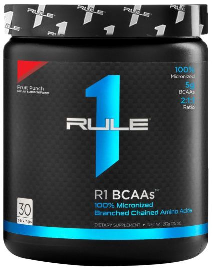 RULE 1 BCAA 2:1:1 - FRUIT PUNCH 222G