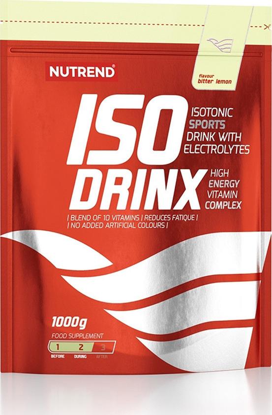 NUTREND ISO DRINK - BITTER LEMON 100G