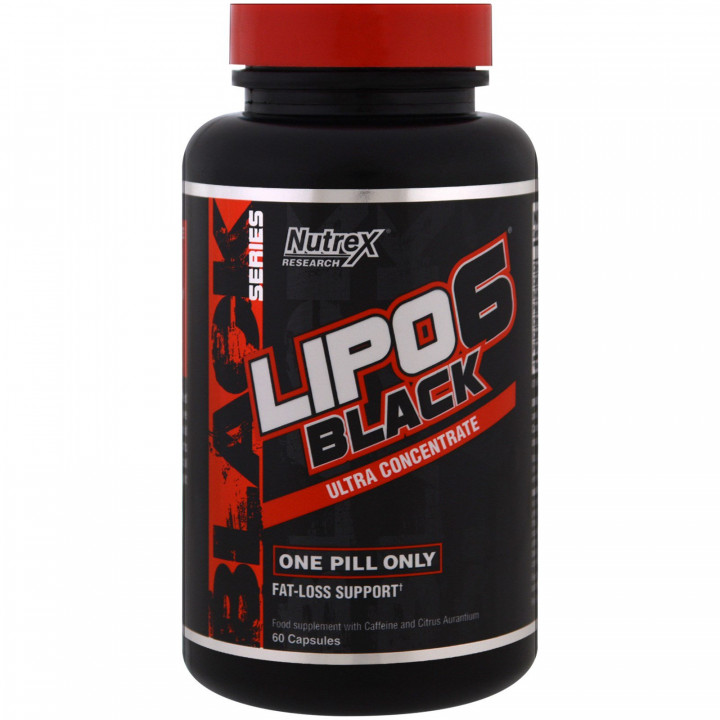 NUTREX RESEARCH - LIPO6 BLACK ULTRA CONCENTRATE - 60 CAPSULES