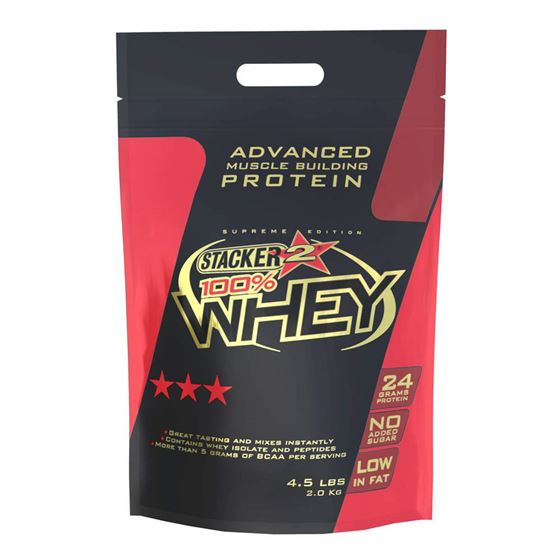 STACKER 2 100% WHEY - CHOCOLATE HAZELNUT 2000G