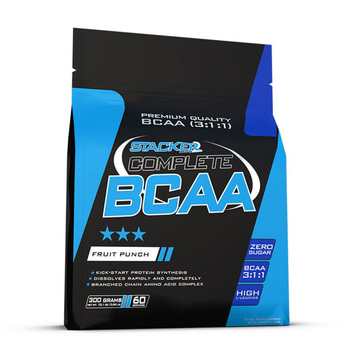 STACKER 2 COMPLETE BCAA 3:1:1 - FRUIT PUNCH 300G