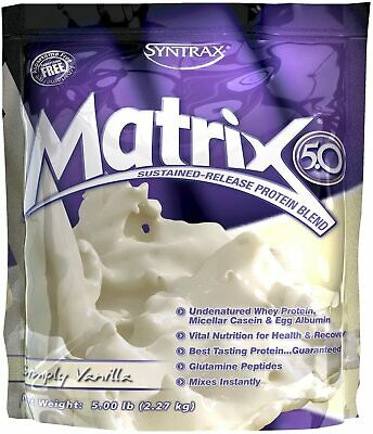 SYNTRAX MATRIX - VANILLA PROTEIN 2270G