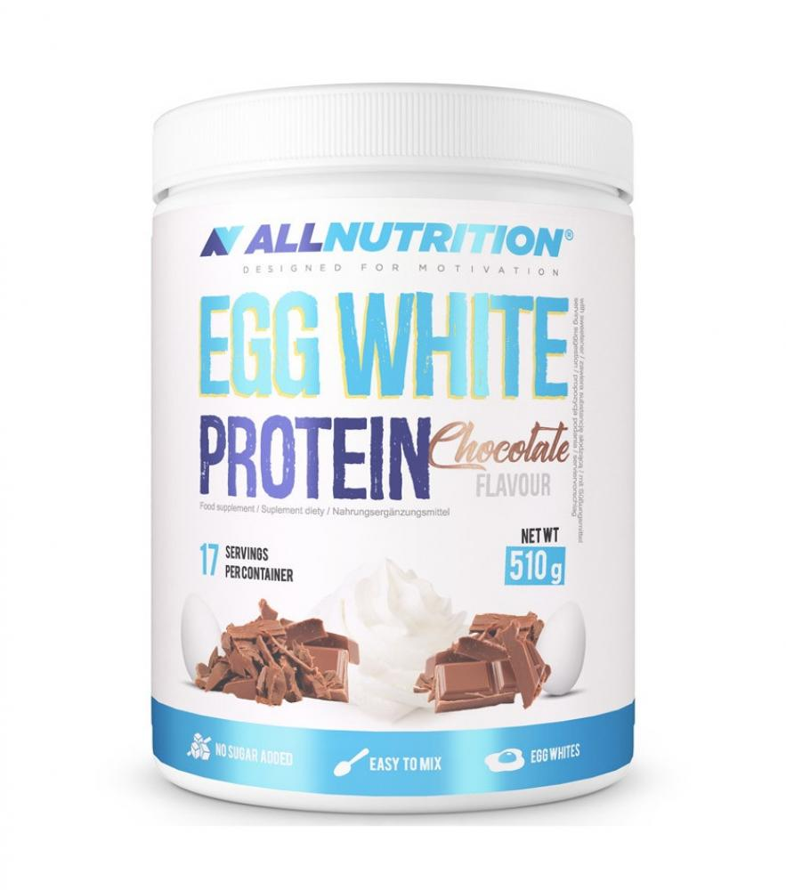 ALL NUTRITION EGG WHITE PROTEIN - CHOCOLATE 510G