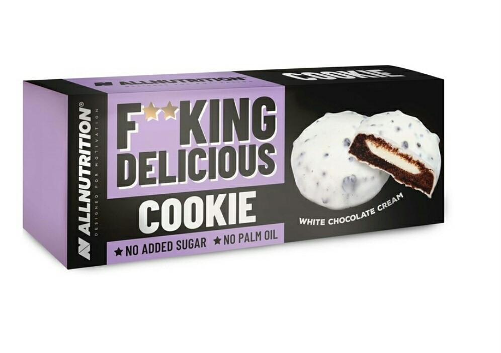 All Nutrition F**KING DELICIOUS COOKIE - White Chocolate
