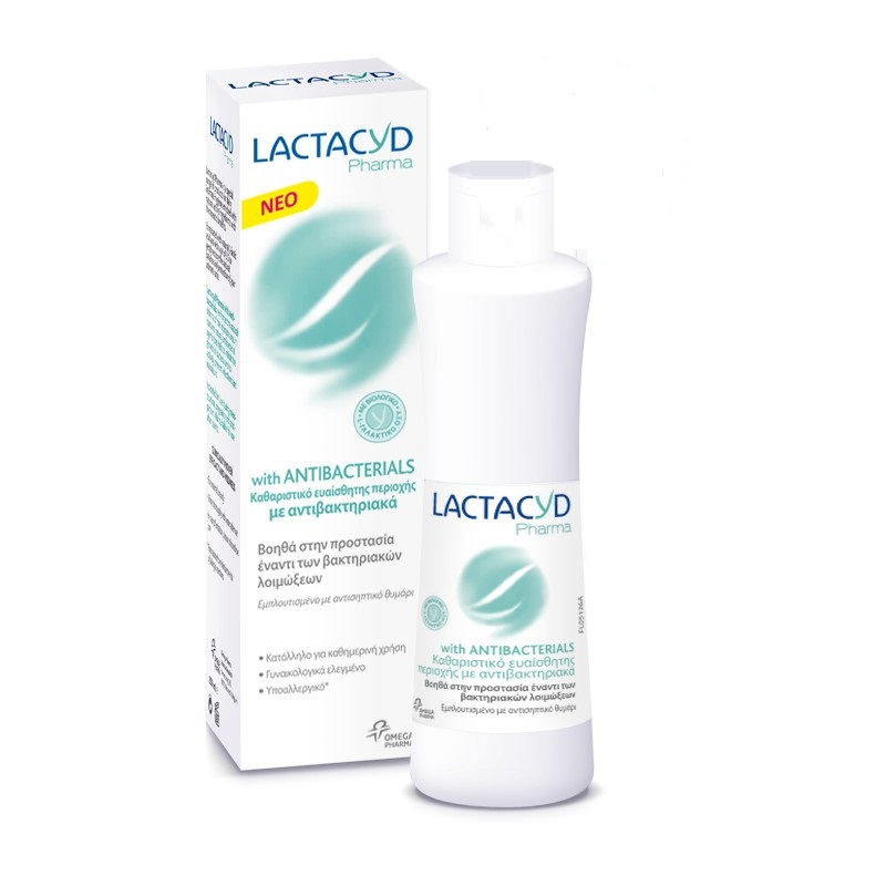 Lactacyd intimate soap with Antibacterial properties