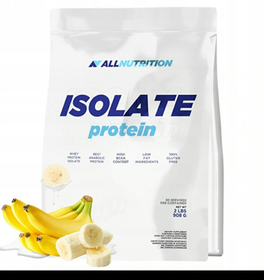 All Nutrition Isolate Protein Bag 908 g - Banana