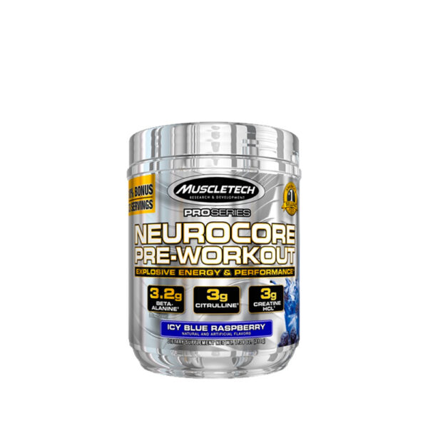 Muscletech Neurocore Pre-Workout Blue Raspberry