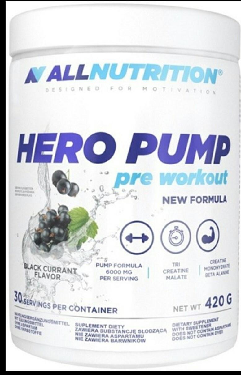 ALLNUTRITION HERO PUMP Blackcurrant