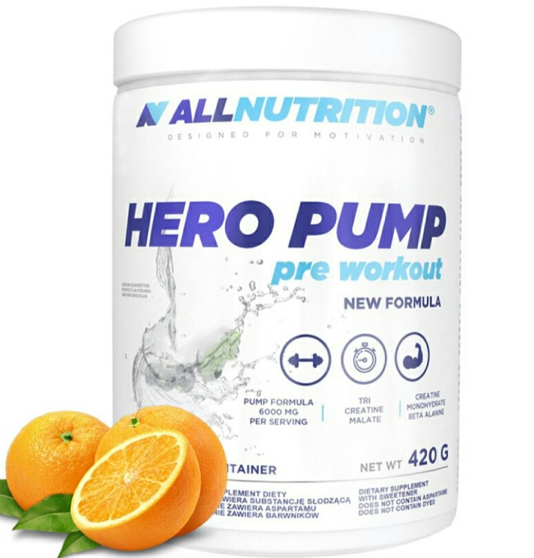 Allnutrition Hero Pump Orange