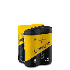 SCHWEPPES TONIC CANS 4X330ML