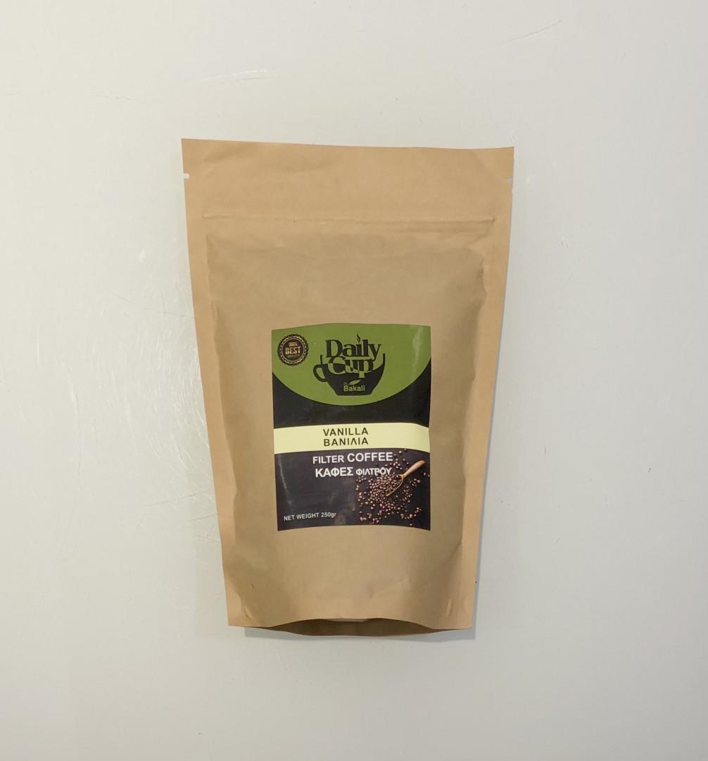 Filter coffee vanilla flavour 250g