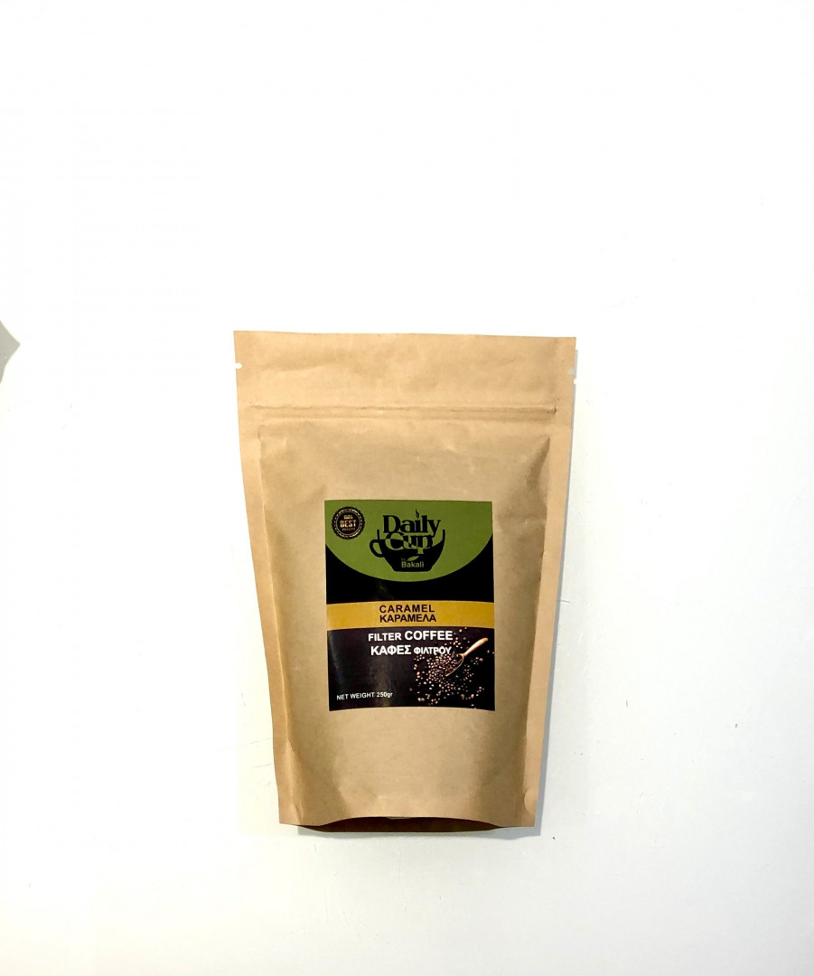 Filter coffee caramel flavour 250g
