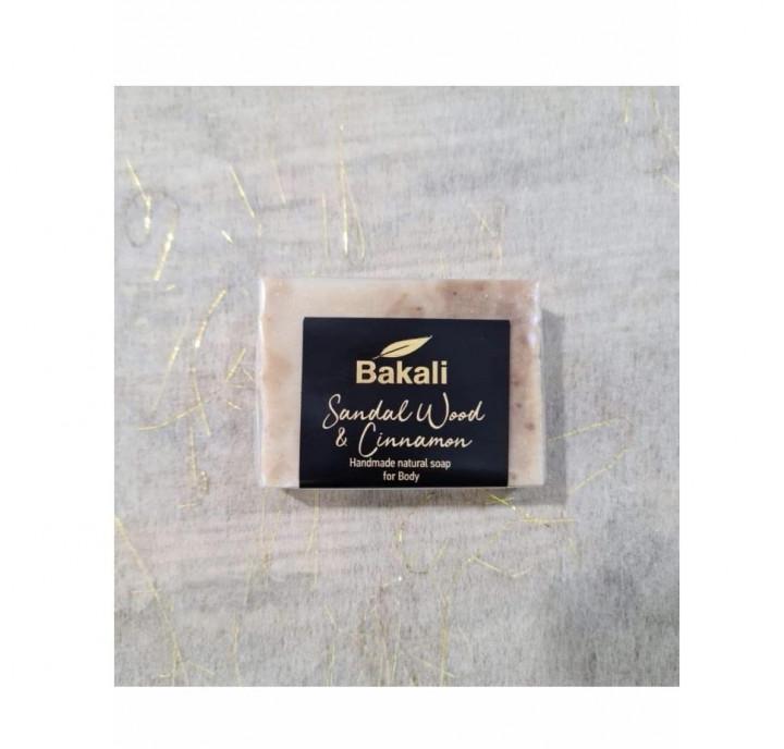 Handmade Cinnamon Soap with sandalwood