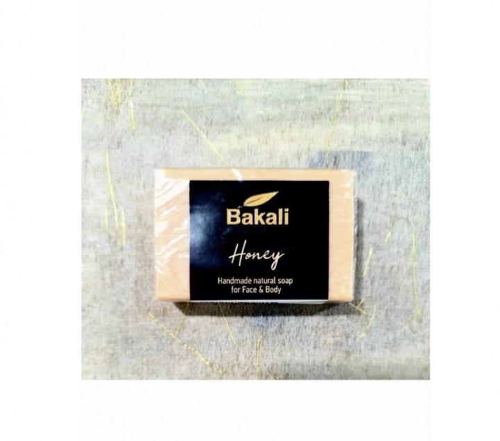 Handmade soap with honey