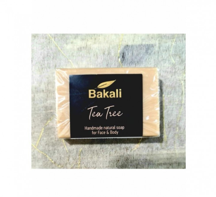 Handmade soap with tea tree oil