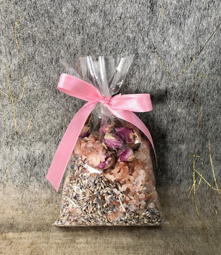 Wedding Favour - Gift Natural Bath Salt  #201