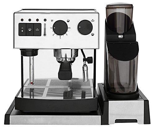 BRIEL SEG162A COFFEE MACHINE AND GRINDER - Silver