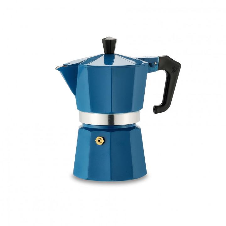 PEZZETTI ITALEXPRESS COFFEE MAKER 1 CUP - BLUE