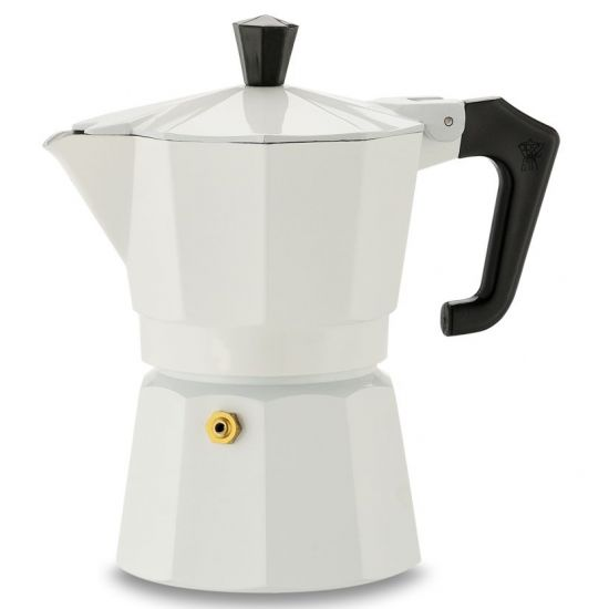 PEZZETTI ITALEXPRESS COFFEE MAKER 3 CUPS - WHITE