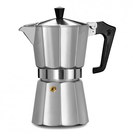 PEZZETTI ITALEXPRESS COFFEE MAKER 6 CUPS - SILVER