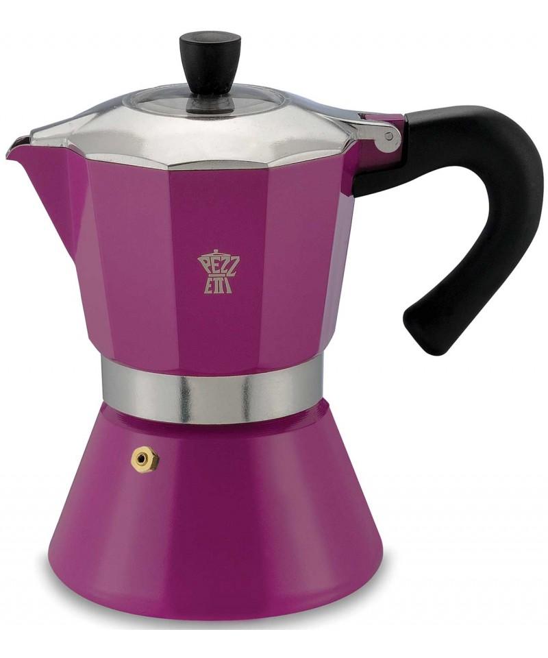 PEZZETTI BELLEXPRESS COFFEE MAKER 3 CUPS - LILAC
