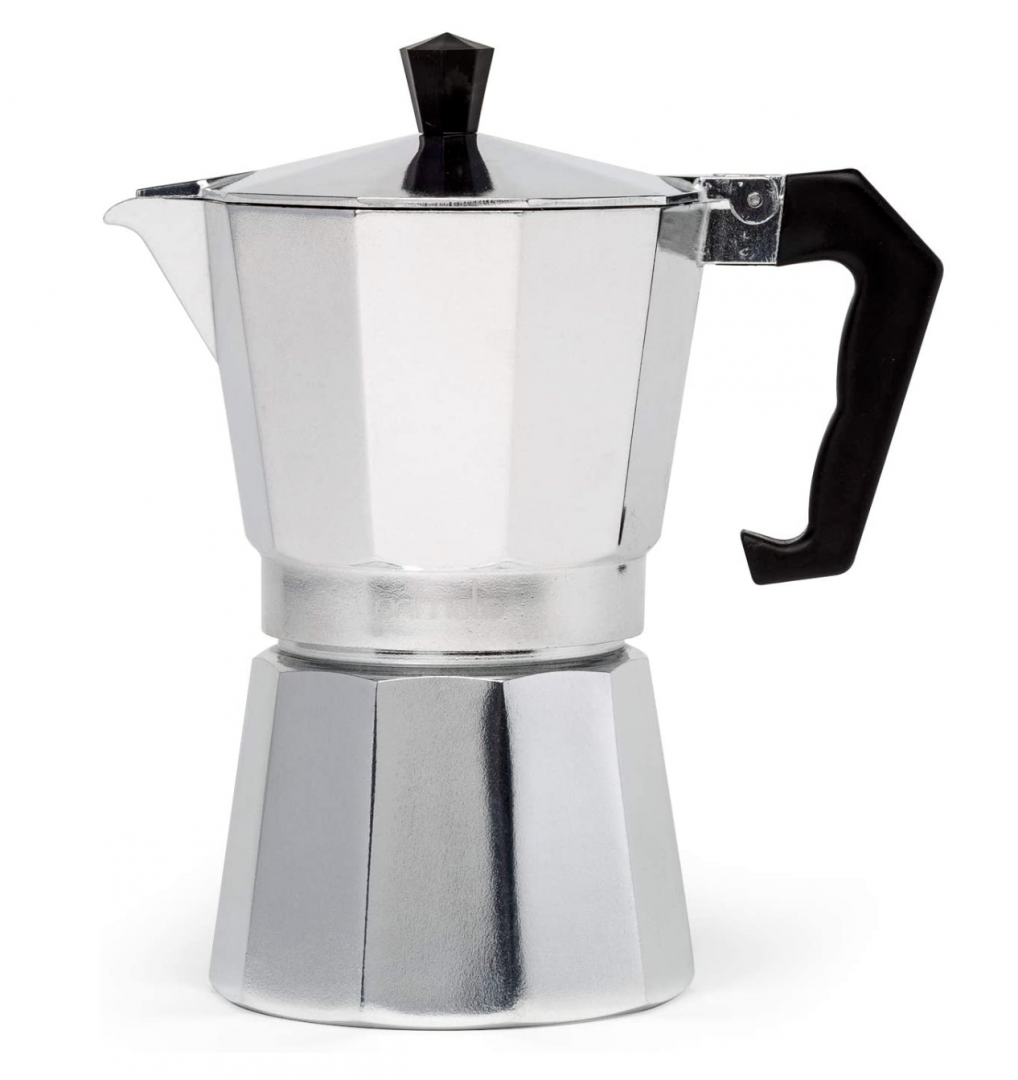 PEZZETTI LUXEXPRESS COFFEE MAKER 2 CUP - ALUMINIUM SILVER