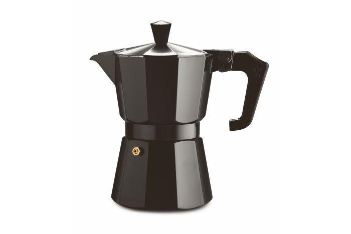 PEZZETTI ITALEXPRESS COFFEE MAKER 6 CUPS - BLACK