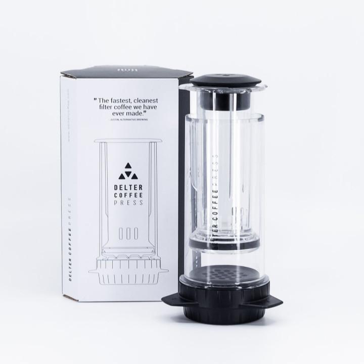 DELTER COFFEE PRESS - Clear Color