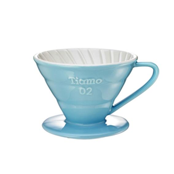 TIAMO DRIPPER V02 CERAMIC - BLUE