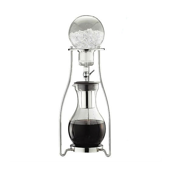 TIAMO COLD WATER COFFEE DRIPPER STEEL STAND - 10 CUPS
