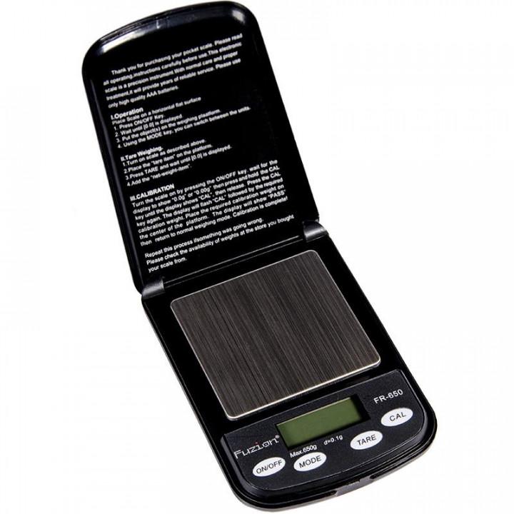 FUZION PROFESSIONAL DIGITAL MINI SCALE FR650 - Black